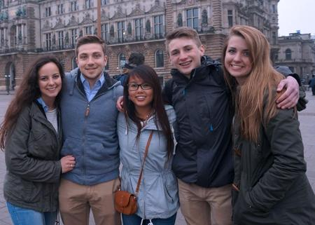 CATA student returns home after year in Germany