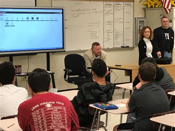 BAC Cybersecurity Employees Share Knowledge with CATA Students
