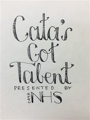 CATA's Got Talent poster
