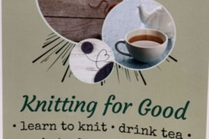 Knitting for Good club poster