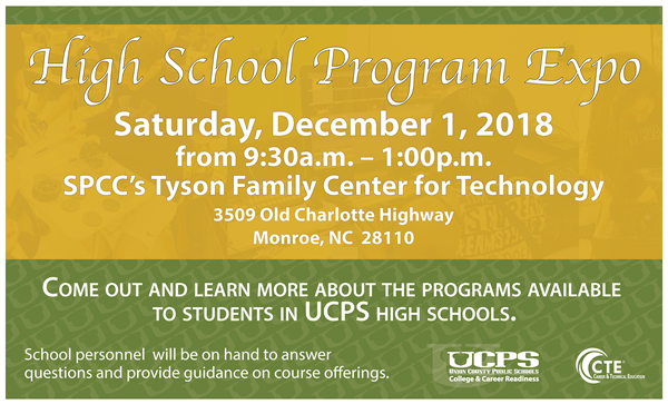 UCPS High School Program Expo