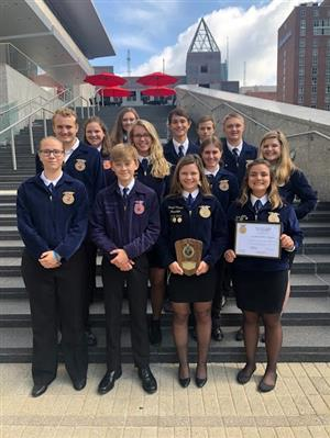 Piedmont HS FFA Members Participate in State Event