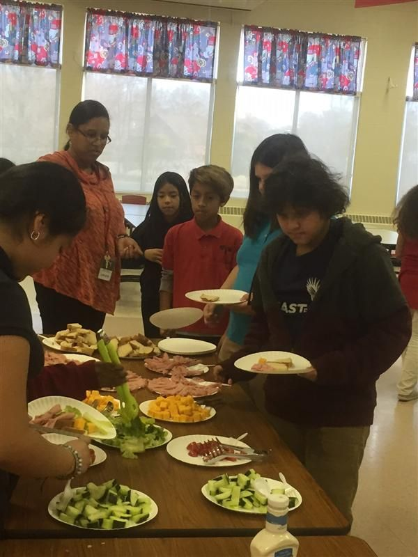 21st CCLC Students Learn the Importance of Nutrition