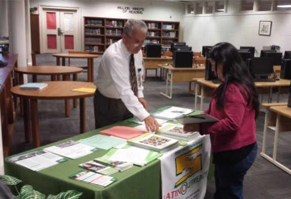 Latino Outreach Informs Parents and Students about College Application