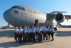 Cadets Train with NC Air National Guard