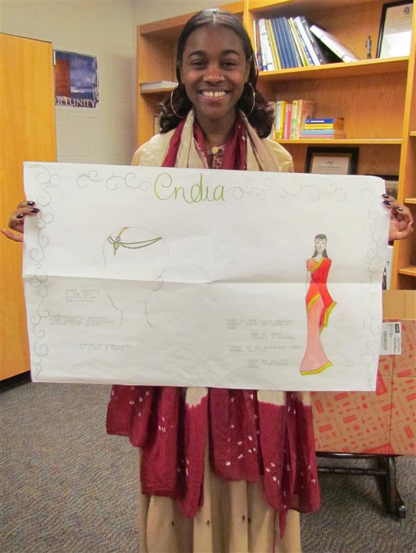 Apparel Students Study Other Cultures
