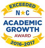 Exceeded Academic Growth Badge