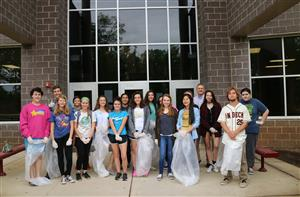 Campus cleanup