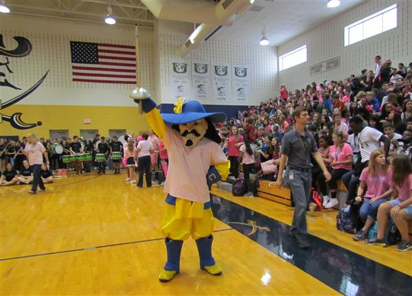 CHS Holds First Pep Rally