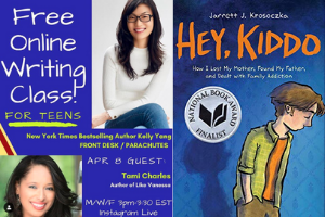 Author And Illustrators Host Virtual Events for Teens