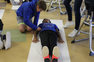 "Students Create ""Body Biographies"" in Seventh Grade ELA Classes"