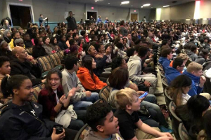CMS Students Attend CIAA Education Day