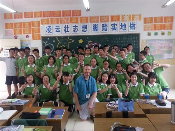 Mr. Webb travels to China