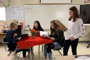Chinese Classes Participate in Restaurant Project