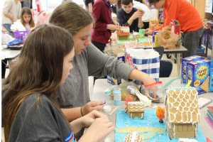 8th Grade Art Students Complete Gingerbread Projects