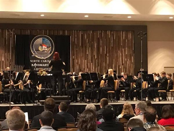 Middle School Band - Excellence