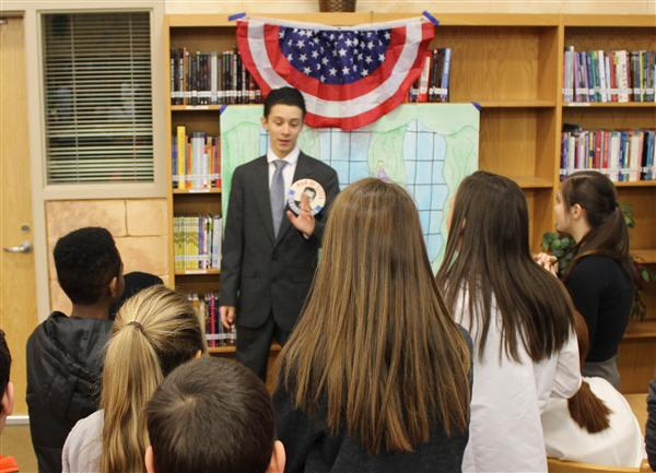 CMS visits CHS for Historical Wax Museum