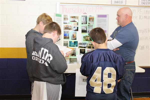 Cuthbertson Middle students make real-world connections at inaugural Career Day