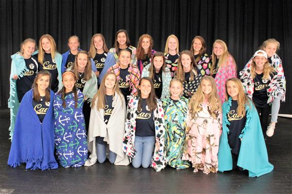 Making Blankets Instead of Goals - Girl's Soccer Gives Back