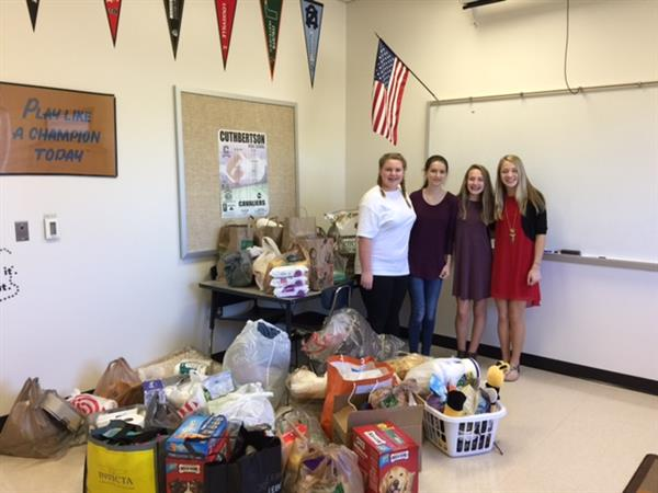 BETA Club Partners with Union County Humane Society