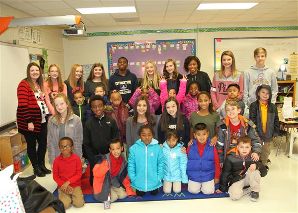 Cavalier Connection travels to Wingate Elementary