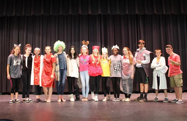 Drama Class explores Cultures from Around the World