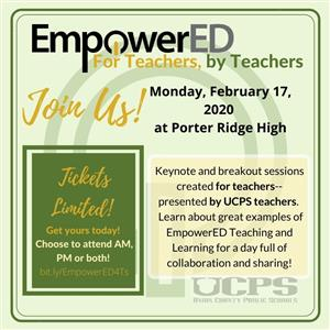 EmpowerED event for teachers