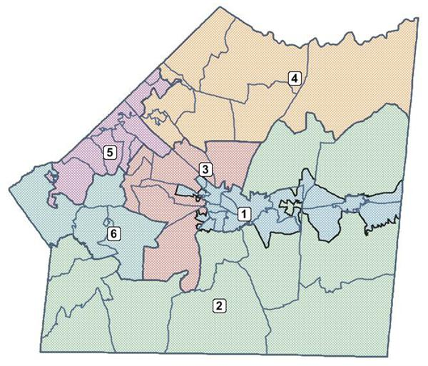 district map of union county nc