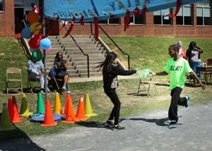 East Elementary's schoolwide Relay For Life blows past its goals