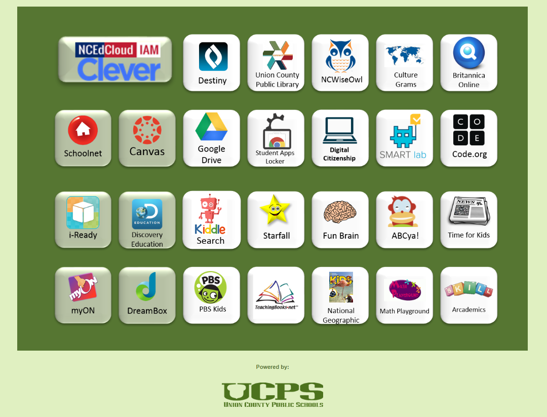 UCPS Extended Learning Resources for Students and Staff