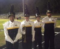 EUMS students participate as part of the Forest Hills Jacket Regiment Marching Band