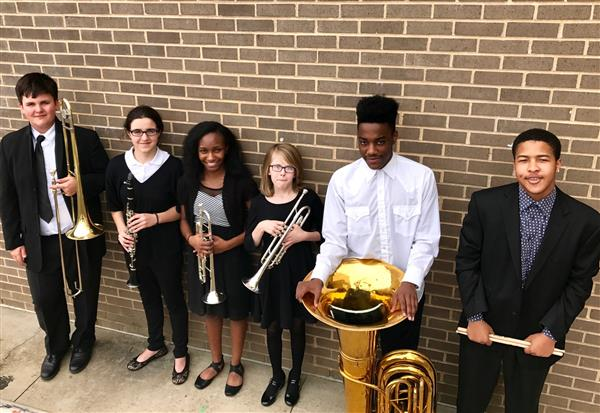EUMS Students Attend All-county Band