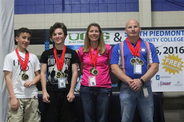 East Union Takes Top Honors in Robotics Competition