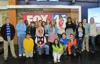 EUMS Broadcast students visit WJZY