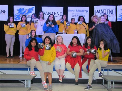 EUMS Joins Pantene's Beautiful Lengths Ponytail Drive