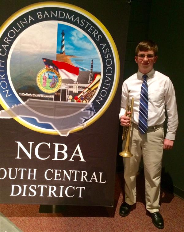 Trevor Helms Makes All-District Band