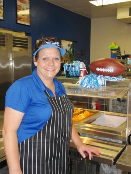 Bryant Named UCPS Cafeteria Manager of the Year