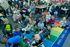 First Grade Helps A Local Wildlife Rescue Organization