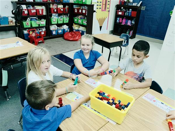4 Cs of STEM in First Grade