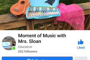 Moment of Music with Mrs. Sloan