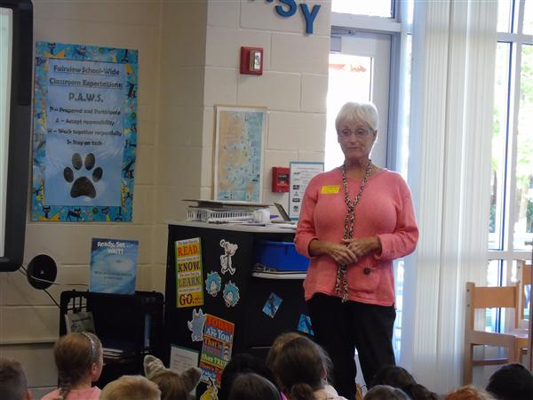 Ready, Set, Wait!  Author Visit from Patti R. Zelch