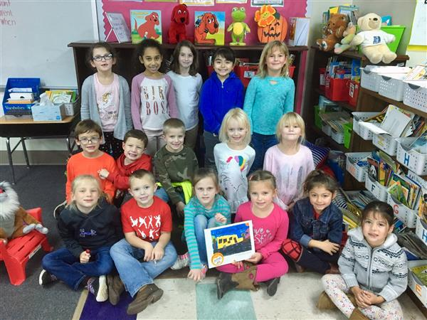 1st graders published authors