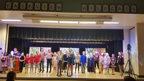 Fairview's First Variety Show
