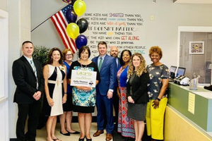 Mrs. Thomas is selected as a 2019 UCPS Principal of the Year Finalist