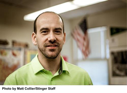 Bryan Rudolph, Forest Hills High School's Teacher of the Year