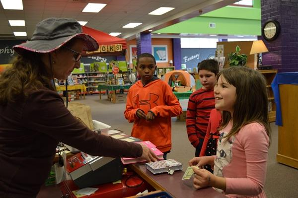 ITES had a full week of Happy Campers at the book fair.