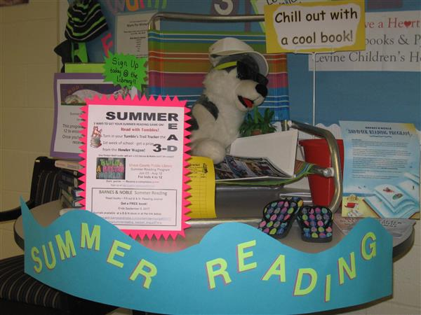 Three ways for Timber Wolves to get in to summer reading.