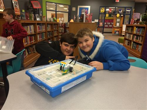Indian Trail students have been rockin' with robotics during Media class!