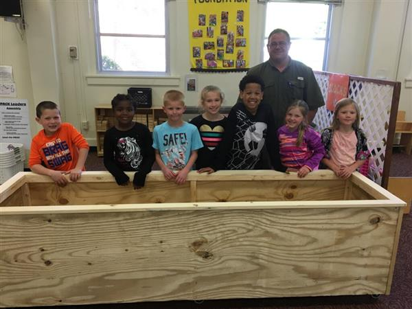 ITES ASEP has new Blocks Box thanks to Douglas Latta, Sun Valley High Schools' Agriculture teacher