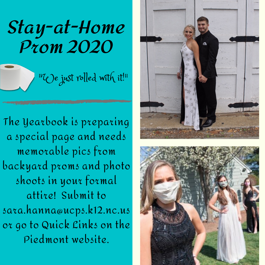 Stay at Home Prom Pics